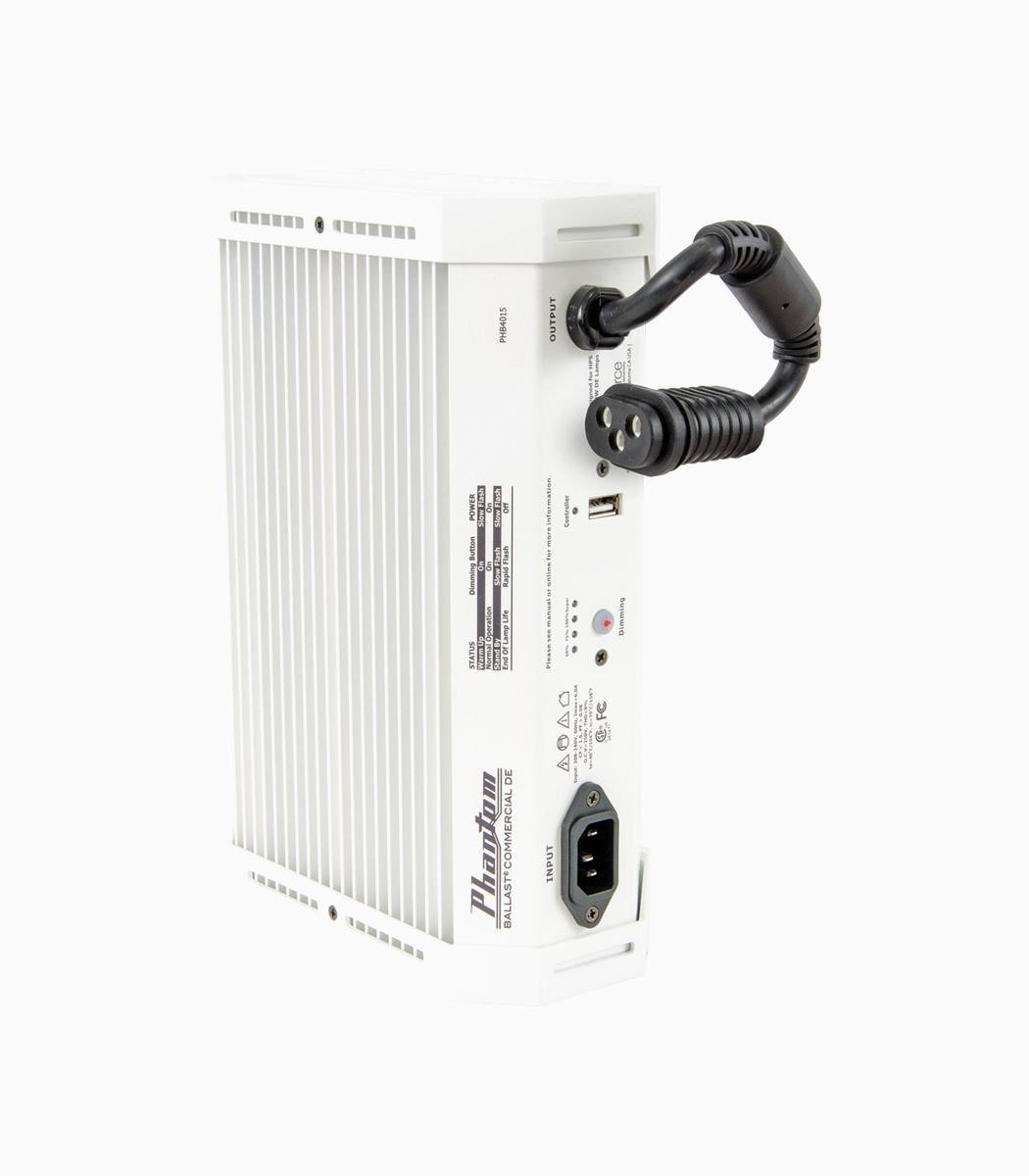 Phantom Commercial 1000W Dimmible Double-Ended Digital Ballast W/USB Interface HPS 208-240V