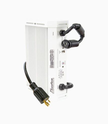 Phantom Commercial 1000W Dimmible Double-Ended Digital Ballast W/USB Interface HPS 277V